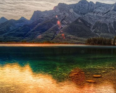 Colorful Mountain Reflection