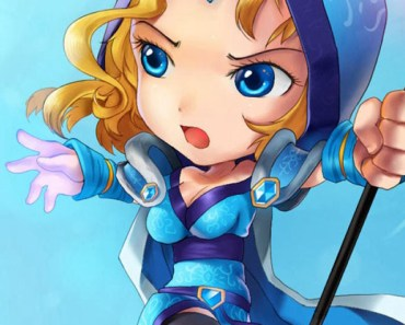 Dota 2 Crystal Maiden