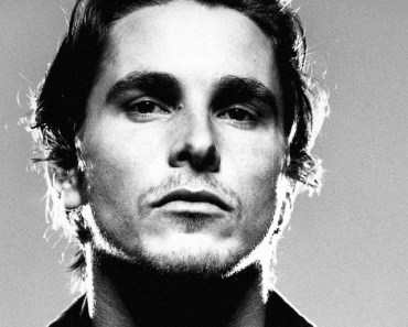 Christian Bale Black and White