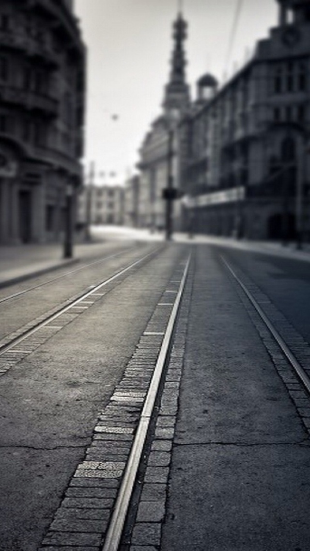 Empty Street IPhone 6 Plus And 5 4 Wallpapers
