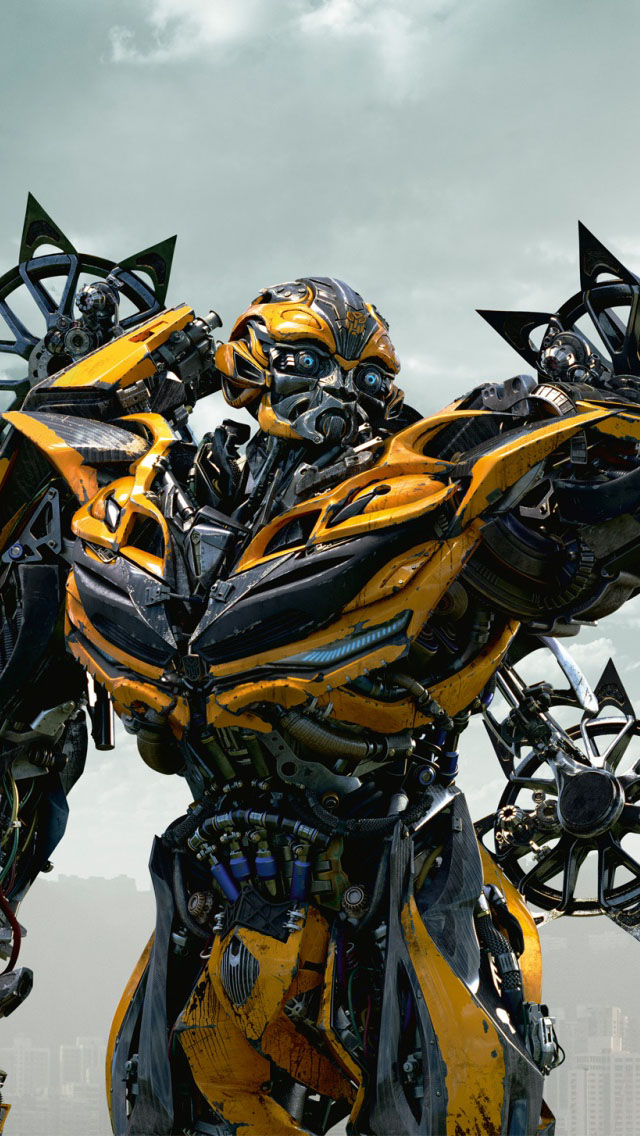Hd Wallpapers Of Bumblebee Car Bumblebee In Transformers 4 Age Of Extinction Iphone 6 6