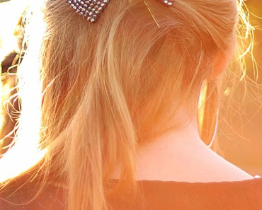 Long Hair Girl Beautiful Bow