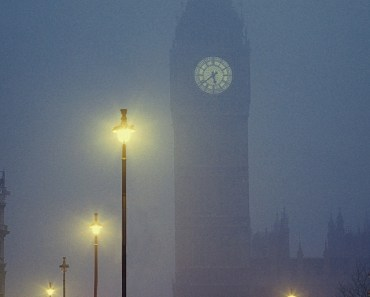London Foggy Night