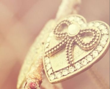 Gold Heart Accessory
