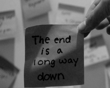 The End Is A Long Way Down