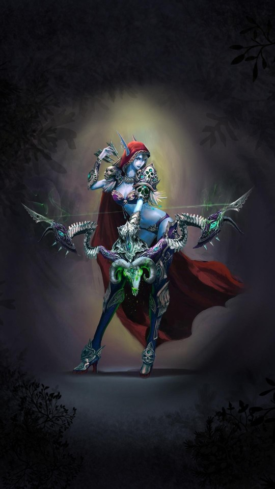 Sad Girl With Red Rose Wallpaper Sylvanas Windrunner Wallpaper Free Iphone Wallpapers