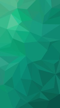 Green Gradient Polygons
