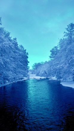 Cold Blue River