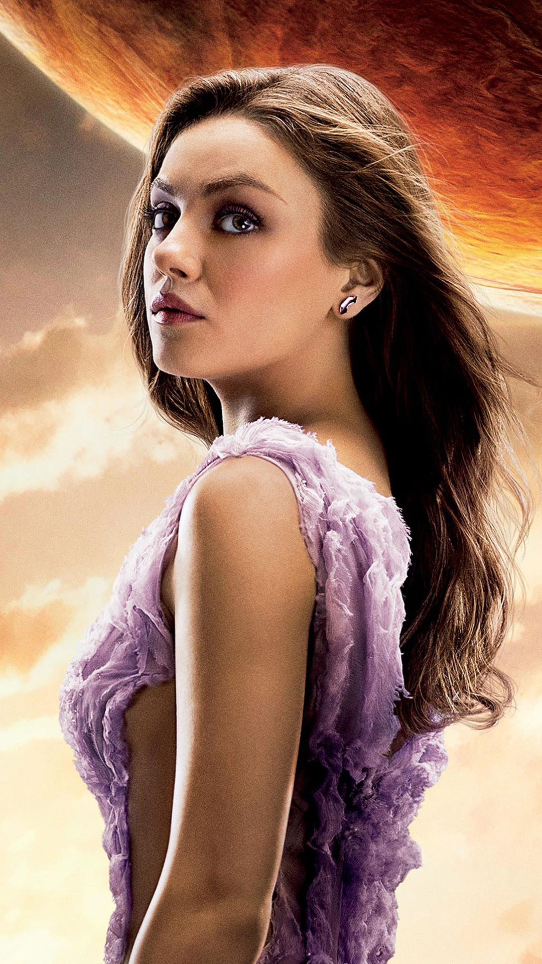mila kunis jupiter ascending iphone 6 / 6 plus and iphone 5/4 wallpapers