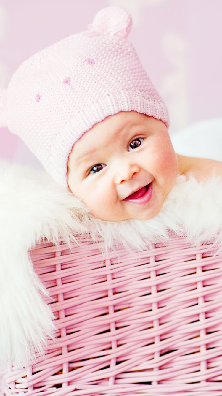 Laughing Girl Wallpapers Free Download Cute Laughing Baby Iphone 6 6 Plus And Iphone 5 4 Wallpapers