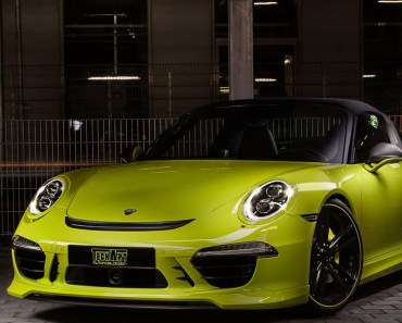 Porsche Techart 911 Targa 4S Yellow