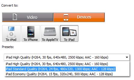 free ipad video converter