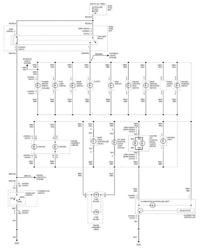 1999 isuzu rodeo radio wiring diagram 1999 image isuzu rodeo radio wiring diagram wiring diagram on 1999 isuzu rodeo radio wiring diagram