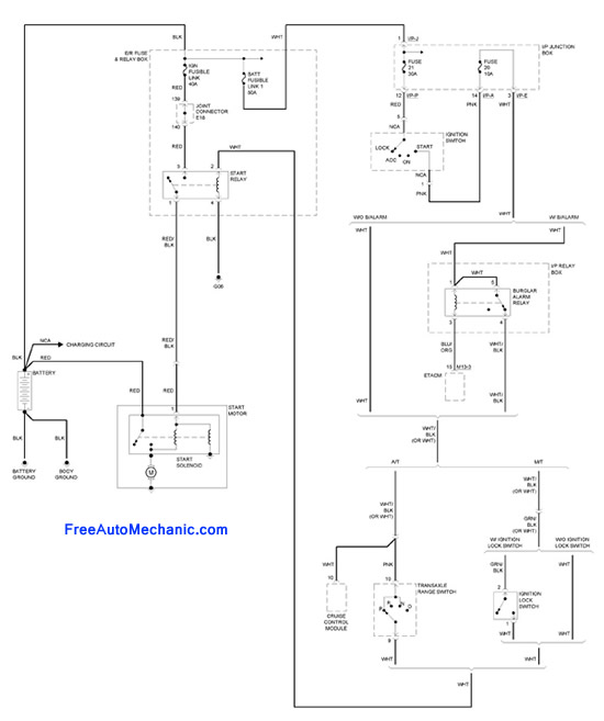 Wiring Diagrams 2 Post Mini Starter On350 Chevy Mortor