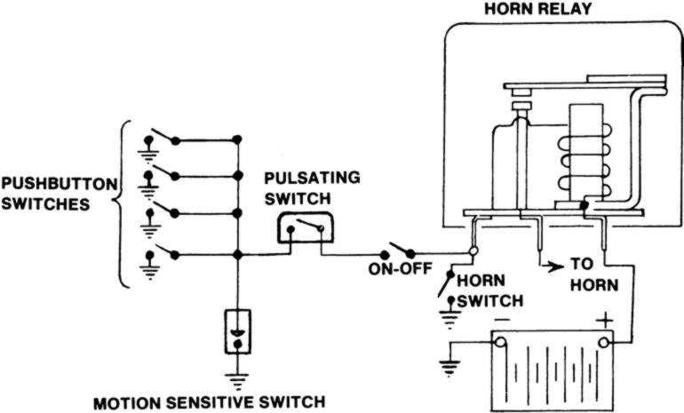 Klaxon Horn Wiring Diagram : 26 Wiring Diagram Images