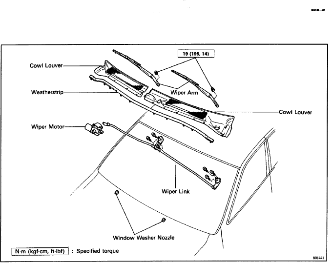 Isuzu Rodeo Parts Diagram Windshield Wipers, Isuzu, Free