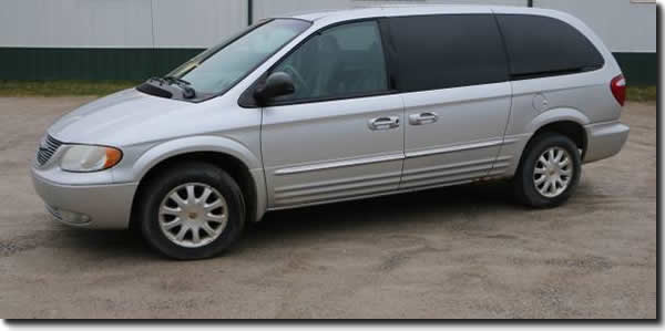 2001 Chrysler Town And Country Tcm