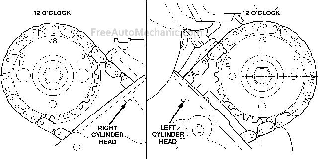 1997 Cadillac Catera Timing Belt Diagram