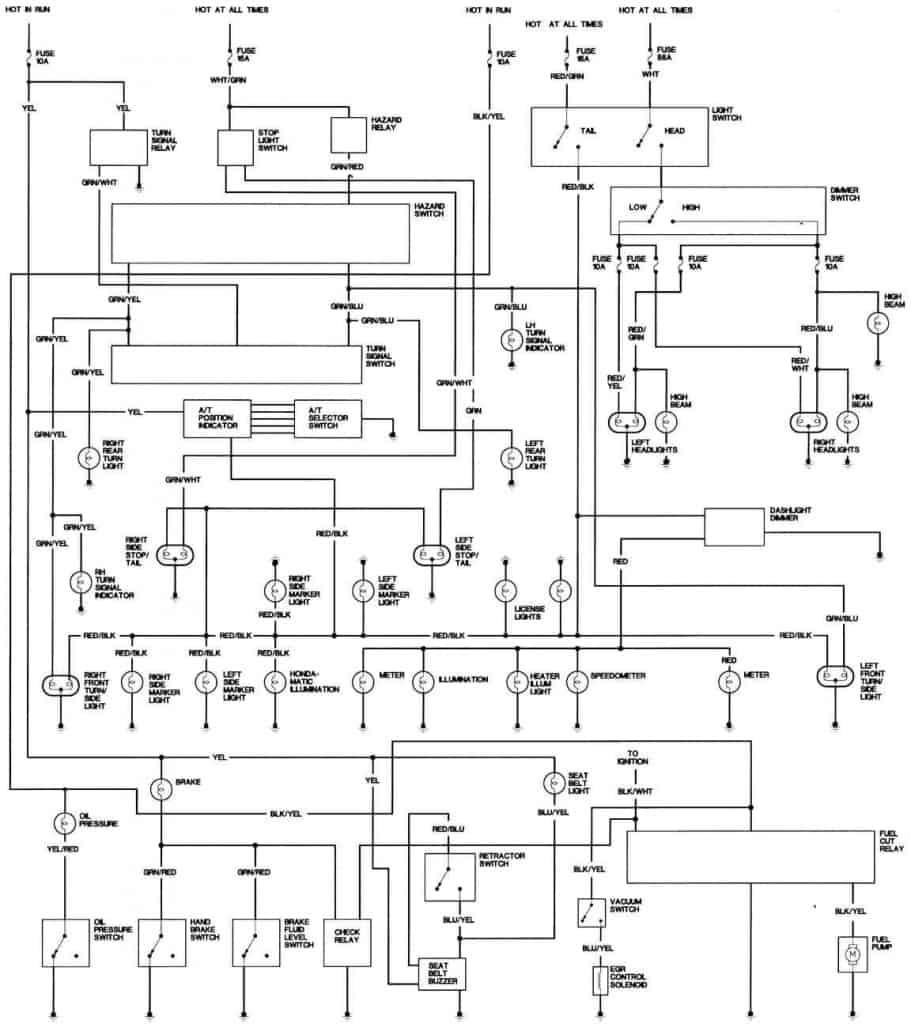 medium resolution of 1981 honda accord california body wiring diagram