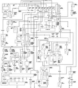 1981 Honda Accord California Engine Wiring Diagram