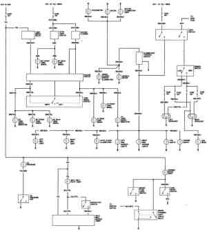 1981 Honda Civic Body Wiring Diagram  FreeAutoMechanic Advice