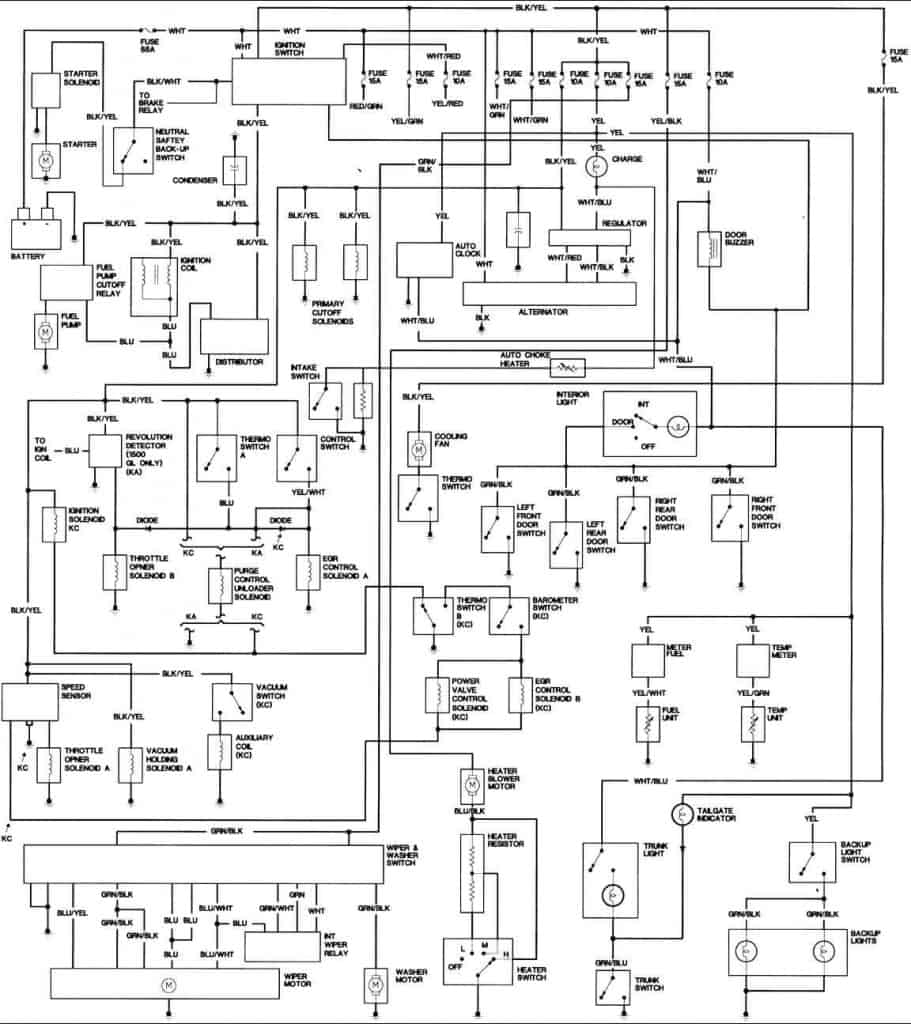 medium resolution of 1981 honda civic engine wiring diagram freeautomechanic advice honda civic alternator wiring diagram 1981 honda civic