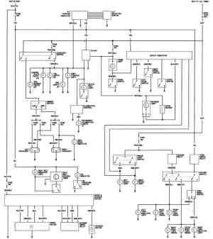 1981 Honda Prelude California Body Wiring Diagram
