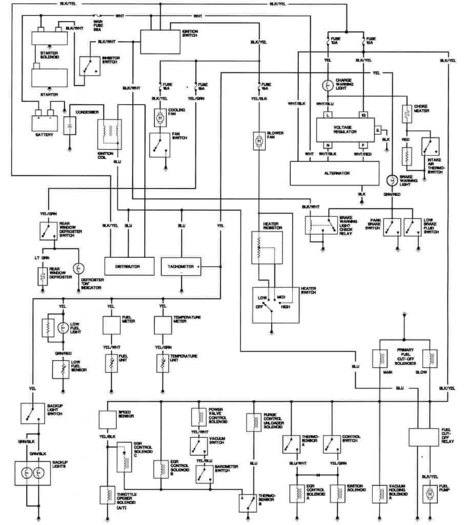 medium resolution of 1981 honda prelude california engine wiring diagram 2000 honda prelude engine diagram 1981 honda prelude california