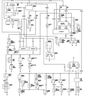 1981 Honda Prelude California Engine Wiring Diagram
