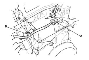 VTC oil control solenoid valve 2008 Honda Accord