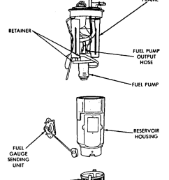 fuel pump diagram 1993 dodge w150 [ 846 x 1024 Pixel ]