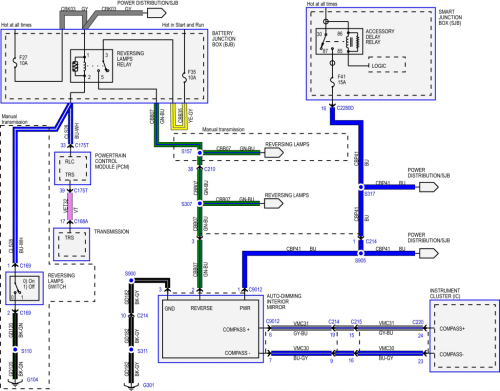 small resolution of auto dimming mirror wiring diagram