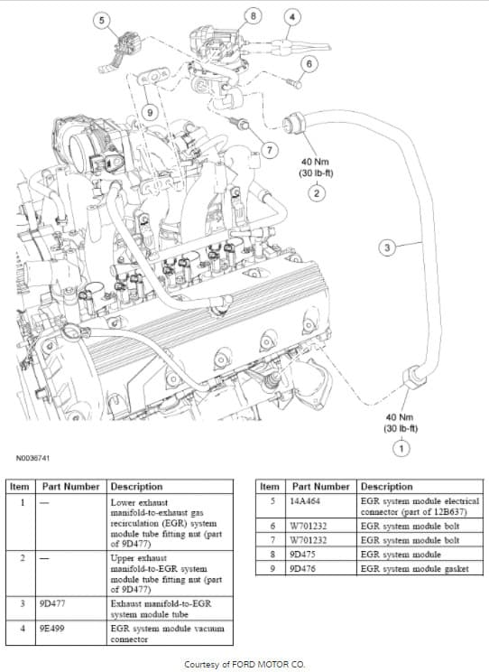 Vacuum diagrams for 2006 Ford E250 w/ 4.6L Engine