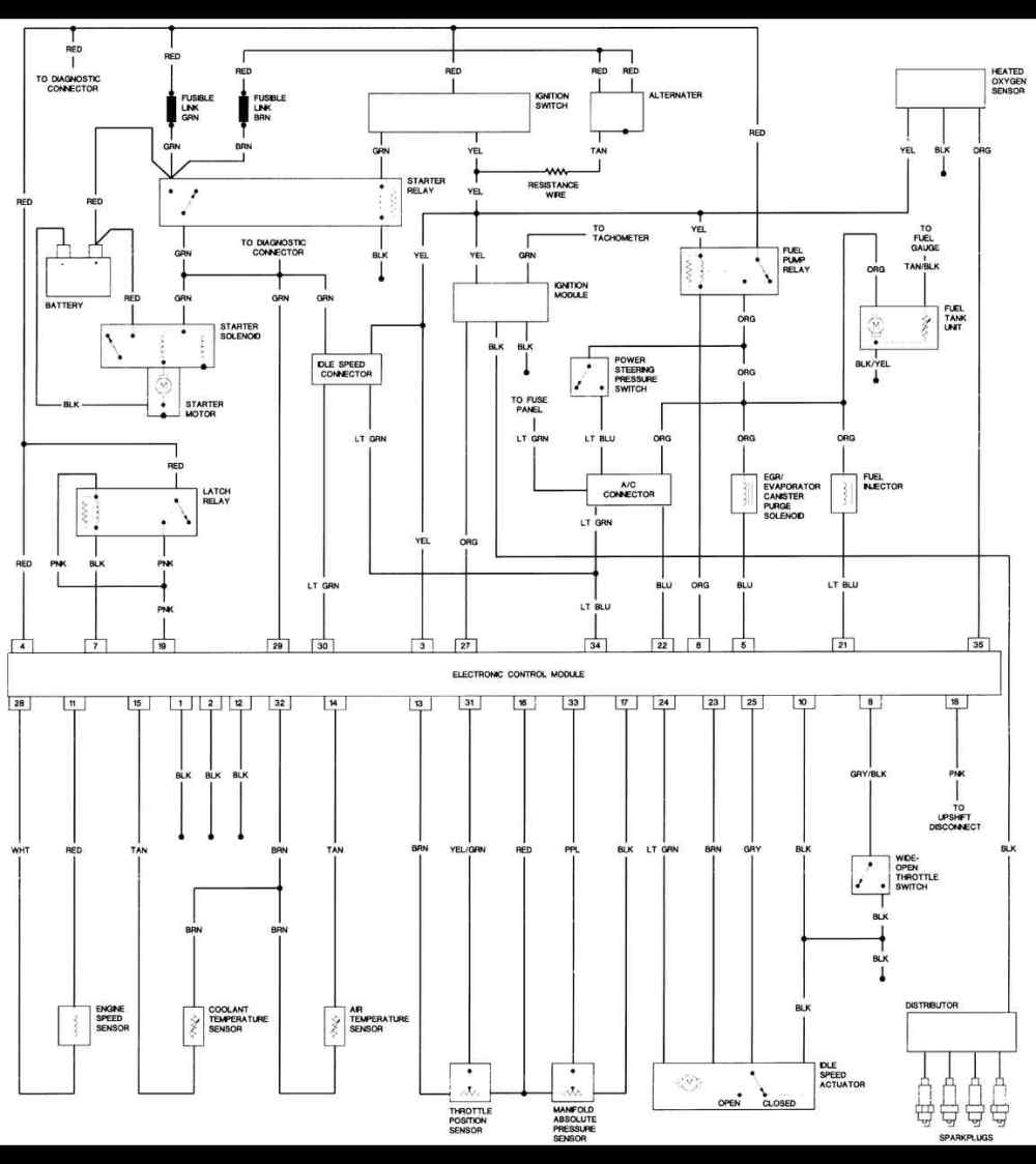 medium resolution of 1987 jeep wrangler 2 5l engine freeautomechanic gm vacuum diagrams gm vacuum diagrams