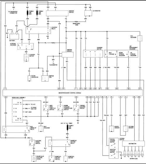 small resolution of 1987 jeep ignition wiring wiring diagram todays engine alternator diagram 1987 jeep ignition coil wiring diagram