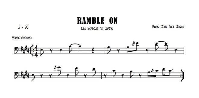 Led Zep - Ramble On