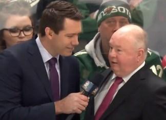 St, Louis Blues Coach Makes Amazing Self-Edit On Live TV