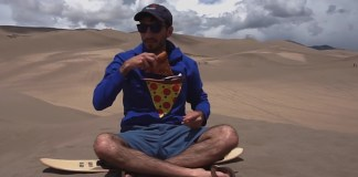 New 'Pizza Pocket' Hoodie Has Insulated Pouch To Keep Pizza Warm On-The-Go