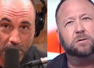 Former Friends Joe Rogan And Alex Jones In Epic Feud