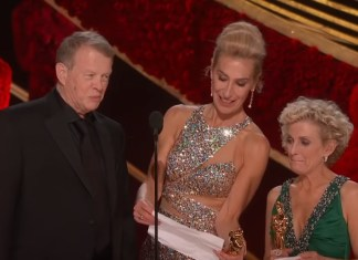 And The Worst Speech Of The Oscars Goes To The 'Vice' Hair And Makeup Team