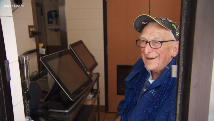 Adorable 88-Year-Old McDonald's Worker Finally Retires After 29 Years
