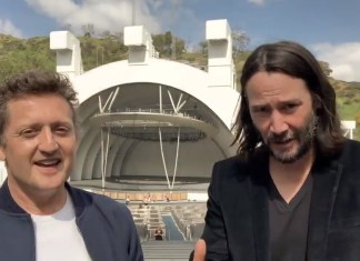Keanu Reeves And Alex Winter Announce They're Reuniting For A Third 'Bill & Ted' Movie