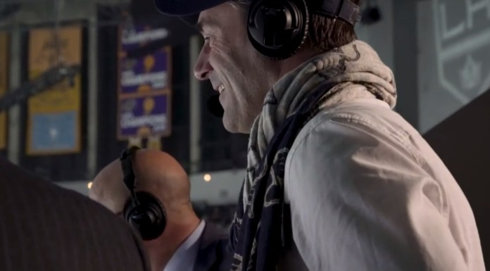 John Hamm Calls St. Louis Blues Goal Like A True Pro