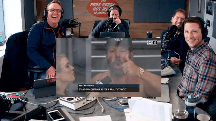 Free Beer and Hot Wings Bert Kreischer Is The Hockey Fan You Need In Your Life