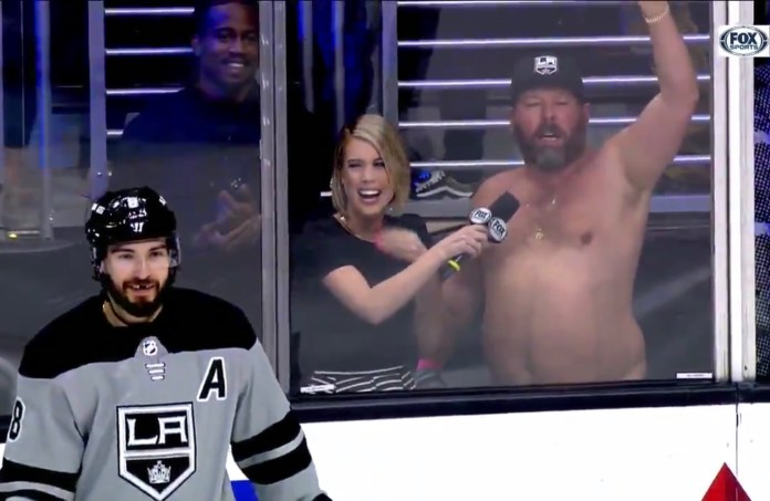 Our Good Buddy Bert Kreischer Needs To Forever Be A Staple At LA Kings Games