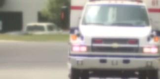 Ambulance Hits Pothole, Saves Man's Life