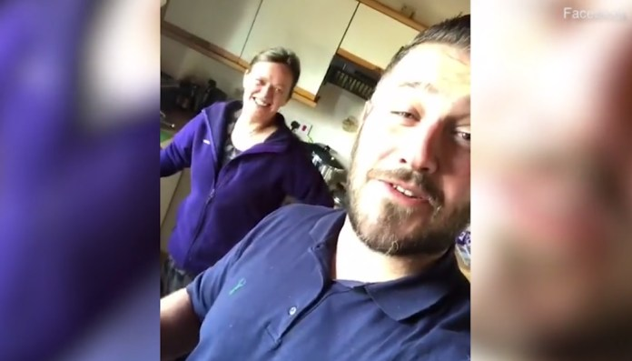 Drunk Scottish Guy Wakes Up In Wrong House, Couple Makes Him Breakfast