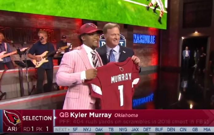 Kyler Murray Joins Arizona Cardinals As #1 NFL Draft Pick