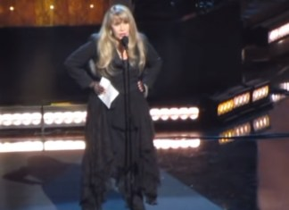 Stevie Nicks Gets Inducted Into Rock Hall Of Fame For Second Time For Her Solo Career