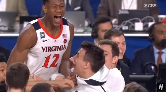 Virginia Cavaliers Defeat Texas Tech To Win 2019 NCAA Championship